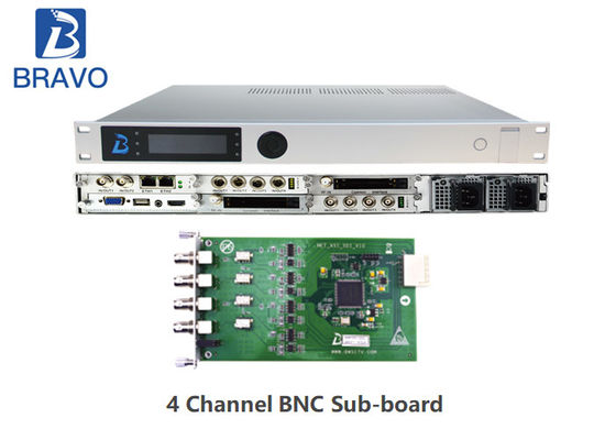 MPEG - 2 AVS Professional SD / HD Receiver Multiplexer Demodulation Composite Video Output